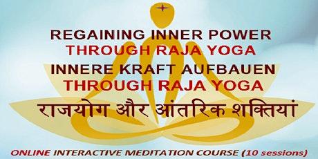 Inner Kraft Aufbauen Through Raja Yoga (auf Deutsch) Tickets