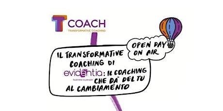 Open Day On Air Scuola T-coach Transformative Coaching biglietti
