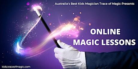 Virtual Kids Magic MASTERCLASS (Age 7+) tickets