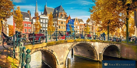 Virtual Travel Talk with AmaWaterways - The Best of Holland and Belgium tickets