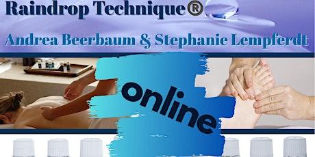 Online Raindrop Technique® Schulung 26. & 27. September 2020 Online Tickets