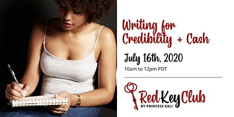 Red Key Club: Writing For Credibility and Cash tickets