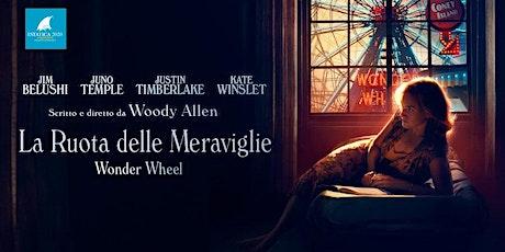 """Cinestatica:  """"La ruota delle meraviglie"""" – Woody Allen (New York) biglietti"""