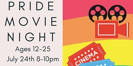Virtual Pride Movie Night (Ages 11-25) tickets