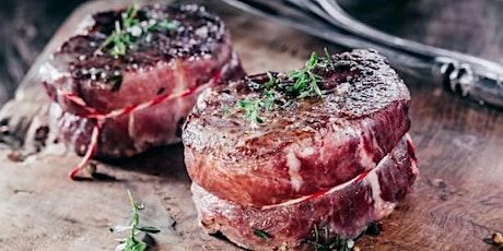 Ribs und Roastbeef Fleisch-Kochkurs in Berlin: saftige Steaks und köstliche Tickets