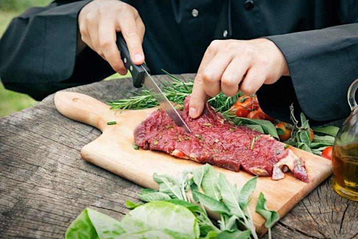 Ribs und Roastbeef Fleisch-Kochkurs in Berlin: Bild