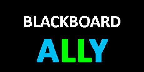 Creating Accessible Learning Content with Ally tickets