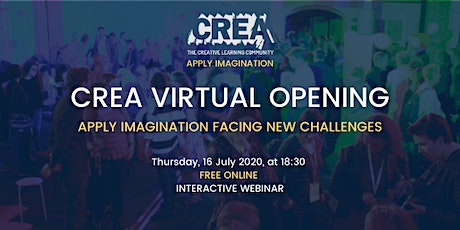 CREA Conference - Virtual Opening tickets