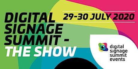 Digital Signage Summit 2020 - The Show Tickets