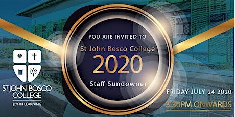 St John Bosco College Staff Sundowner tickets