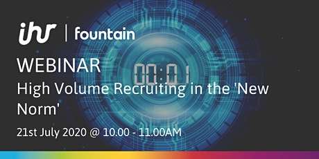 Webinar: High Volume Recruiting in the 'New Norm' tickets