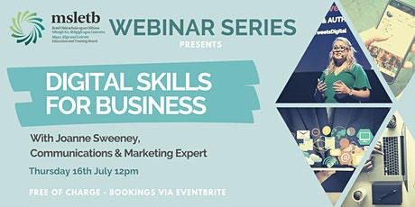 Digital Skills for Business tickets