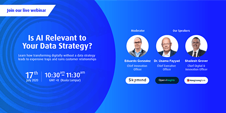 Is AI Relevant to Your Data Strategy? tickets