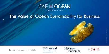 Live Webinar: The Value of Ocean Sustainability for Business tickets