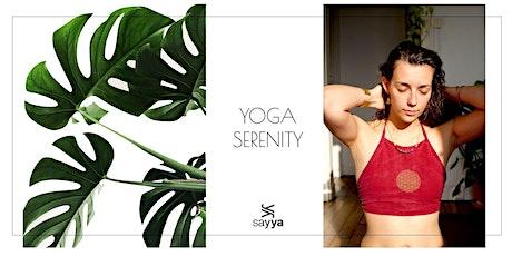 Sivananda Yoga|12€ |19h à l'Espace Sayya billets
