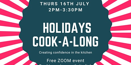 Holiday Cook -a-Long for kids tickets