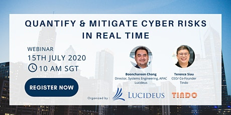 Quantify & Mitigate Cyber Risks in Real Time (Webinar) Tickets