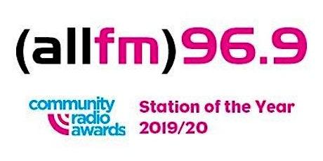 Radio/Podcast Training with award winning All FM radio tickets