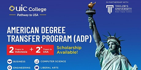 UIC Collage Online Info Session - American Degree Transfer Program tickets