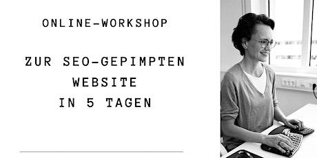 Zur SEO-gepimpten Website in 5 Tagen Tickets