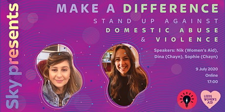 Make a Difference: Stand Up Against Domestic Abuse and Violence tickets
