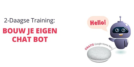 2-Daagse Training: Bouw je eigen Chat Bot tickets