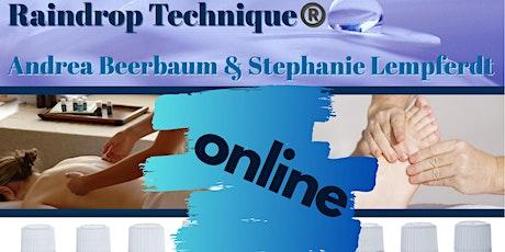 Online Raindrop Technique® Schulung 28. & 29. November 2020 Online Tickets