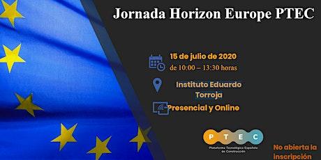 Jornada Horizon Europe entradas