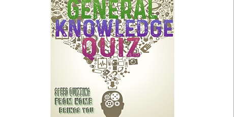 The General Knowledge Quiz tickets