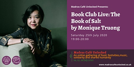 Book Club Live: The Book of Salt by Monique Truong tickets