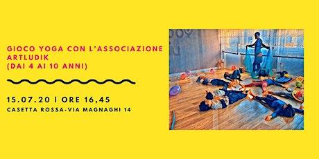 Gioco Yoga con l'Associazione Artludik biglietti