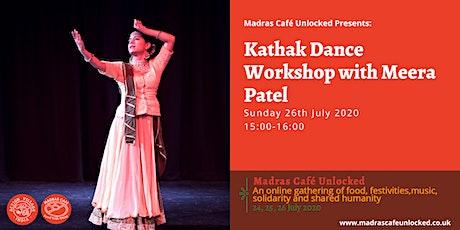 Kathak Dance Workshop with Meera Patel tickets