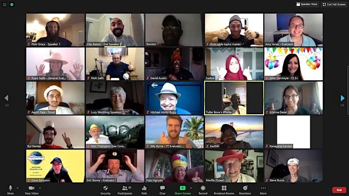 Develop your Leadership & Public Speaking skills with Gatwick Communicators image