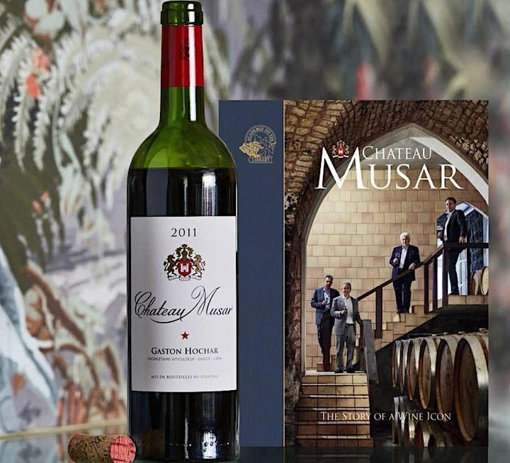 Chateau Musar Portfolio Tasting @ Brew & Crew image