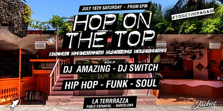 Jackies pres: Hop On The Top Open Air - Hip Hop,Funk&Soul entradas