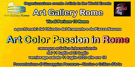Art Color Passion in Rome biglietti