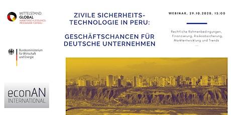 Geschäftschancen in Peru Tickets