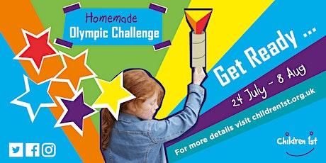 Children 1st Homemade Olympic Challenge Quiz tickets