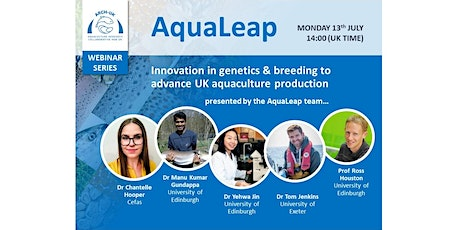 ARCH-UK Webinar Series: The AquaLeap Project tickets