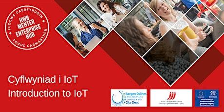 Cyflwyniad i IoT (Wythnos Technoleg Cymru) | Intro to IoT (Wales Tech Week) Tickets