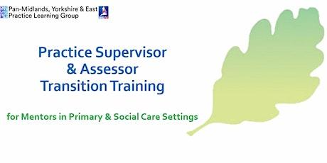 Webinar - NMC SSSA- Supervisor and Assessor Transition Training tickets