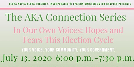 In Our Own Voices: Hopes and Fears This Election C tickets