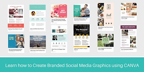 Create Social Media Graphics in minutes using CANVA tickets
