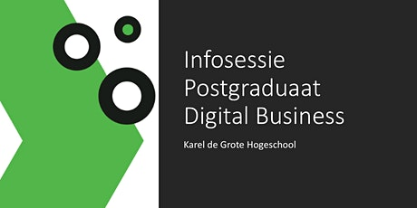 Digital Business: What's in it for you? Online infosessie tickets