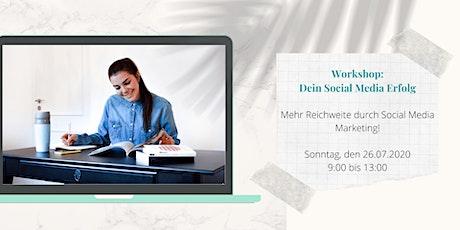 Kostenfreier Workshop: Dein Social Media Erfolg Tickets