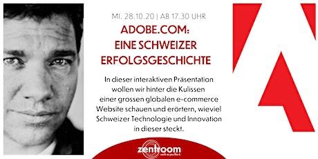 Adobe.com: eine Schweizer Erfolgsgeschichte billets