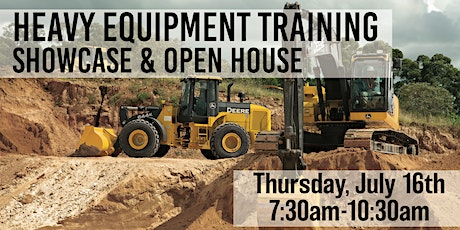 Heavy Equipment Training Showcase and Open House tickets