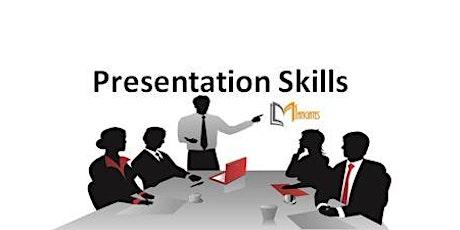 Presentation Skills 1 Day Training in Mississauga tickets