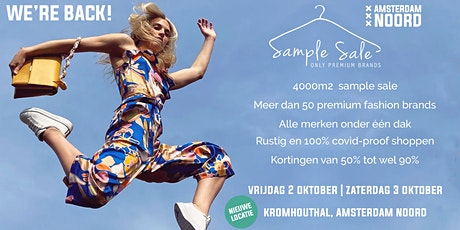 Sample Sale Amsterdam Noord tickets