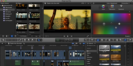 Online:  One-2-One Video Editing for Beginners using Final Cut Pro tickets